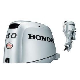 Honda BF 40 Rövid Tribes Csónakmotor Önindítóval,Távirányítóval és Elektromos Kiemeléssel Propeller Nélkül
