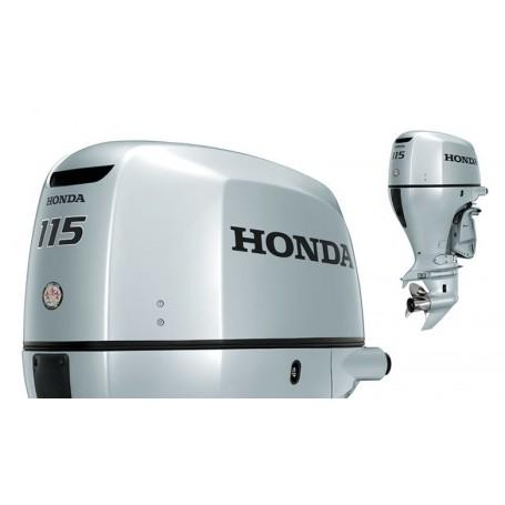 Honda BF 115 Hosszú Tribes Csónakmotor Önindítóval és Elektromos Kiemeléssel Propeller Nélkül