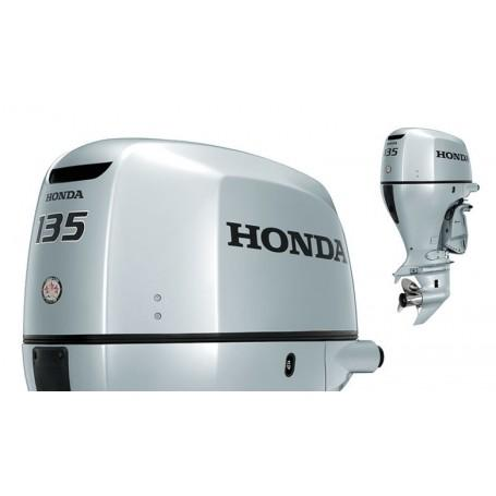 Honda BF 135 Hosszú Tribes Csónakmotor Önindítóval és Elektromos Kiemeléssel Propeller Nélkül