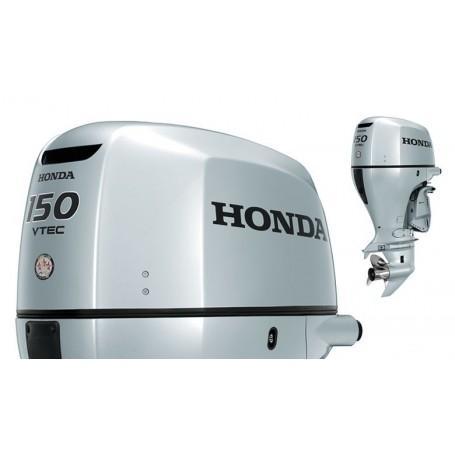 Honda BF 150 Hosszú Tribes Csónakmotor Önindítóval és Elektromos Kiemeléssel Propeller Nélkül