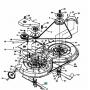 MTD CUB CADET fünyírókés  742-0607C