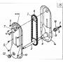 MTD CUB CADET hajtómű Lánckerék 613-0007