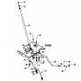 MTD CUB CADET Kormány fogas ív 717-1550E