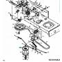 MTD CUB CADET Variátor görgő 741-0404