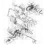 MTD CUB CADET Hydro ventilátor 731-1449A