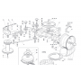 Castelgarden J92,TC 102-122 Vezető görgő 25601570