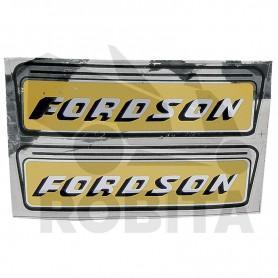 FORDSON és FORD Felirat...