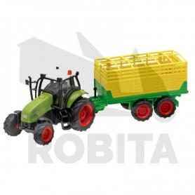 Kids-Globe Traktor Pótkocsival