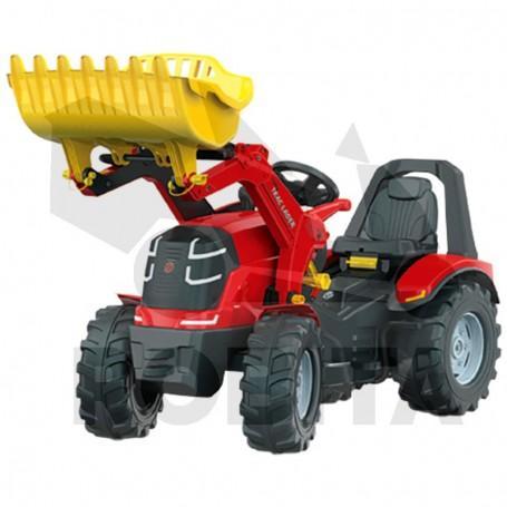 Rolly Toys rollyX-Trac Premium + Rakodó + Gumi kerék