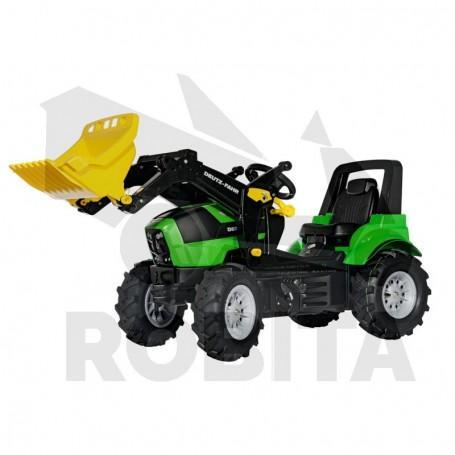 Rolly Toys Deutz Agrotron 7250 TTV Rakodó levegős abronccsal