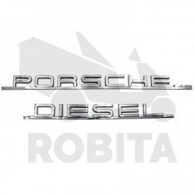 Porsche Dieselhez Típustábla