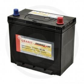 12 V, 45 Ah akkumulátor