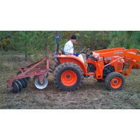 Kubota L3200 4WD Kompakt Traktor